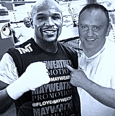 Floyd Mayweather et Fabrice Allouche