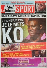 La Tribune  du 18 mai