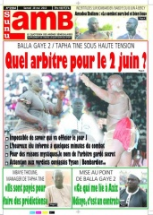 Sunu Lamb  du 18 mai